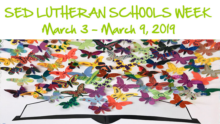 SED Lutheran Schools Week