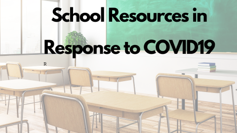 Resources for Schools During Closure