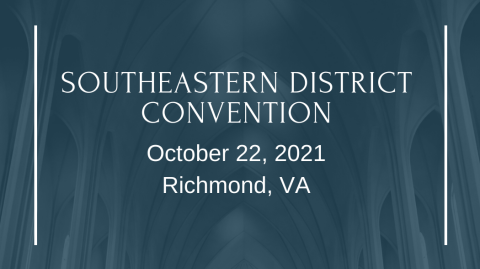 District Convention 2021
